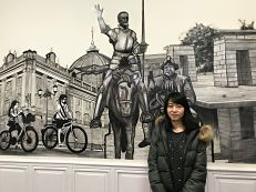 Junko is studying a Spanish course in AIL Madrid