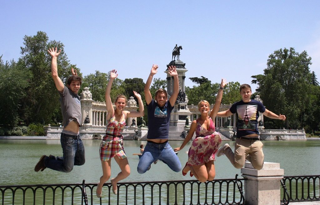 Challenges in Retiro Park – Featured after-class activity